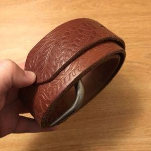 Anthropologie Leather Belt
